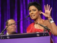 News anchor Tamron Hall speaks onstage during the National CARES Mentoring Movement's 2nd Annual 'For the Love of Our Children' Gala at Cipriani 42nd Street on January 30, 2017 in New York City. (Photo by Bennett Raglin/Getty Images for for National CARES Mentoring Movement)