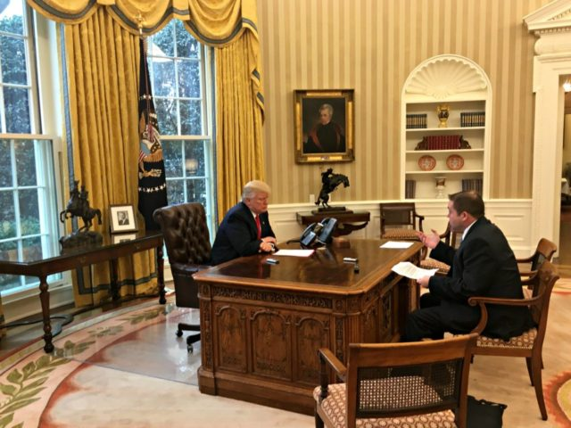 Superior Full Transcript: President Donald Trumpu0027s Exclusive Interview With  Breitbart News Network In Oval Office