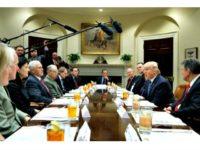Trump Meets Leaders AP