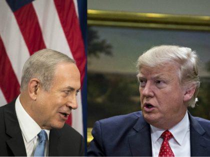 Prime Minister Benjamin Netanyahu, President Donald Trump