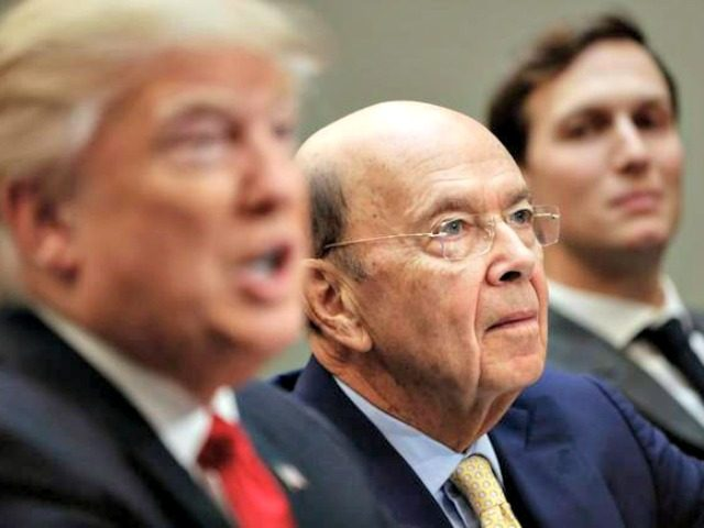 Wilbur Ross sworn in as U.S. secretary of commerce