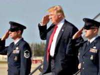 Trump Salute AP
