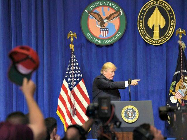 Trump Speaks at McDill AP