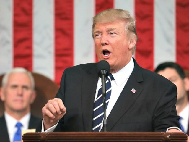 Trump Speech Congress Getty