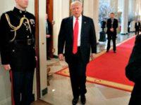 Trump Walks Govs Assoc-AP