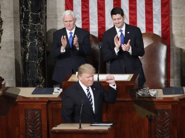 Trump address (Pablo Martinez Monsivais / Associated Press)