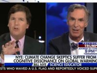 Watch: Tucker Carlson, Bill Nye Spar over Climate Change