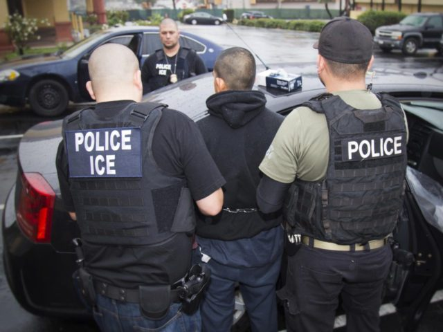 Undocumented immigrant criminal illegal alien raids (ICE / Associated Press