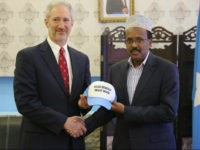 U.S. Ambassador Gives Somali President 'Make Somalia Great Again' Hat