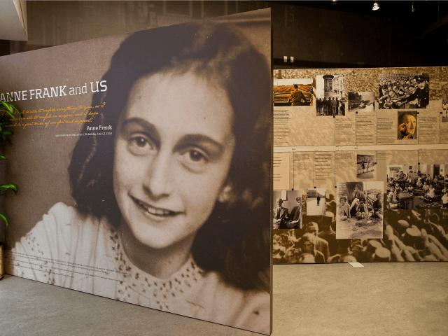 The entrance of the Anne Frank Center USA is seen on March 26, 2012 in New York City. The center, which opened on March 15, 2012, attempts to inspire tolerance by sharing about the life and thoughts of Anne Frank, a victim of the Holocaust. (Photo by Andrew Burton/Getty Images)