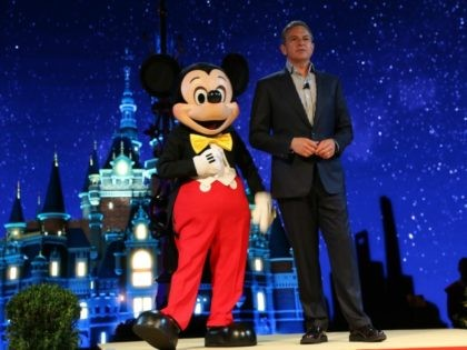 SHANGHAI, CHINA - JULY 15: (CHINA OUT) Robert A. Iger, Chairman and Chief Executive Officer of The Walt Disney Company, attends the unveilling ceremony of six themed parks of Shanghai Disney Resort at Shanghai Expo Center on July 15, 2015 in Shanghai, China. As the first Disney resort in China …