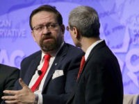 NATIONAL HARBOR, MD - FEBRUARY 24: Deputy assistant to President Trump Sebastian Gorka participates in a discussion during the Conservative Political Action Conference at the Gaylord National Resort and Convention Center February 24, 2017 in National Harbor, Maryland. Hosted by the American Conservative Union, CPAC is an annual gathering of …