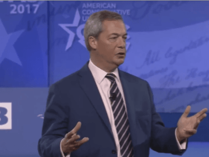 Farage at CPAC: 2016 Was The Beginning of a Great Global Revolution