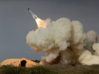FILE -- In this Dec. 29, 2016 file photo, released by the semi-official Iranian Students News Agency (ISNA), a long-range S-200 missile is fired in a military drill in the port city of Bushehr, on the northern coast of Persian Gulf, Iran. President Donald Trump's national security adviser, Michael Flynn, …