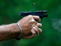 side arm pistol
