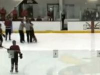 Watch: College Hockey Player Leaves Penalty Box, Fights Referee