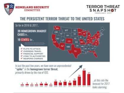 House Report: 'Unprecedented Spike' in Homegrown Terror Threat