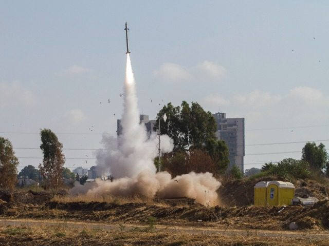 Rockets fired at Tel Aviv stopped by Israel's Iron Dome