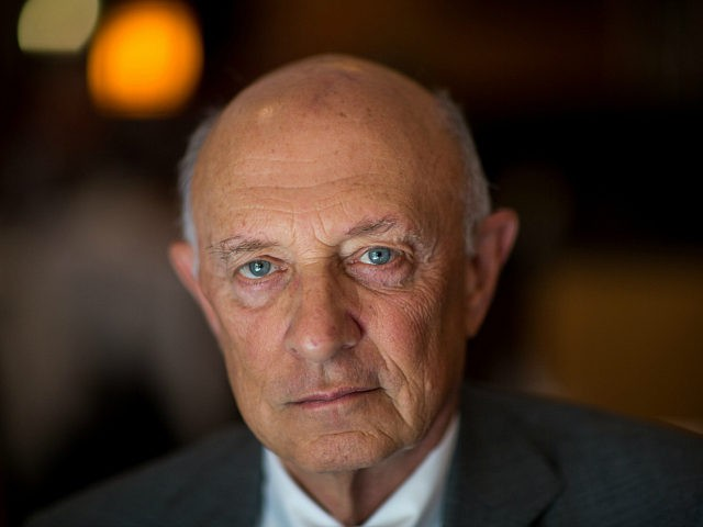 WASHINGTON -- SEPT 8 : Former Director of Central Intelligence under President Bill Clinton, James Woolsey, who was interviewed for 'The Spymasters,' about CIA Directors for CBS/Showtime, September 8, 2015, Washington, D.C. (Photo by David Hume Kennerly/Getty Images)