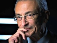 WASHINGTON, DC -- NOVEMBER 9: Former Clinton White House Chief of Staff, John Podesta, being interviewed for Discovery Channel's, 'The President's Gatekeepers,' November 9, 2012, in Washington, D.C. (Photo by David Hume Kennerly/Getty Images)