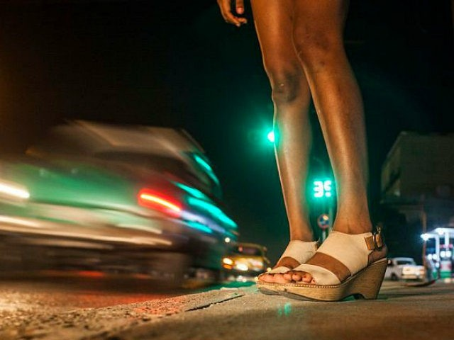 Sex worker in Havana, Cuba, on 1st January 2016. The night is still their best ally. They are seen in nightclubs, streets and other places, although they almost always end their journey in private houses where foreign tourists who arrive on the Caribbean island are staying. The jineteras, as it …