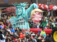 PHOTOS: German Carnival Floats Depict Decapitated Trump, Hitler Comparisons