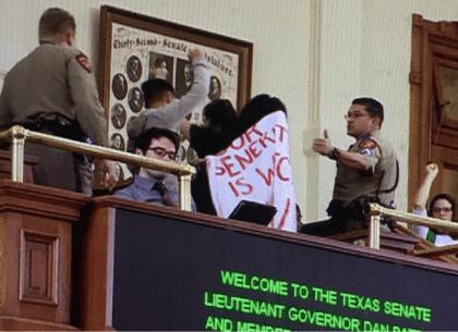 sanctuary protest tx