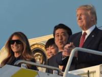 Donald Trump, Shinzo Abe, Melania Trump, Akie Abe