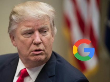 Donald Trump: Google 'Trying to Rig the Election'