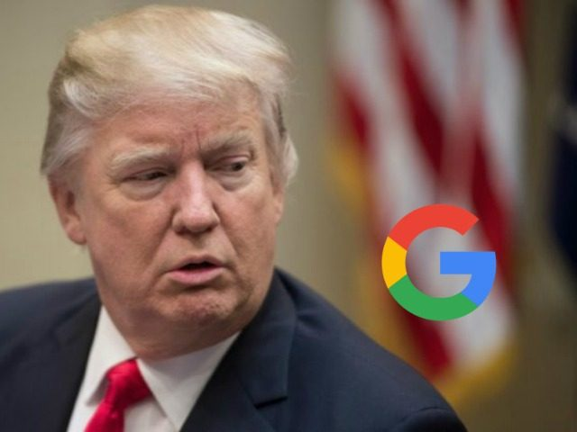 donald trump google