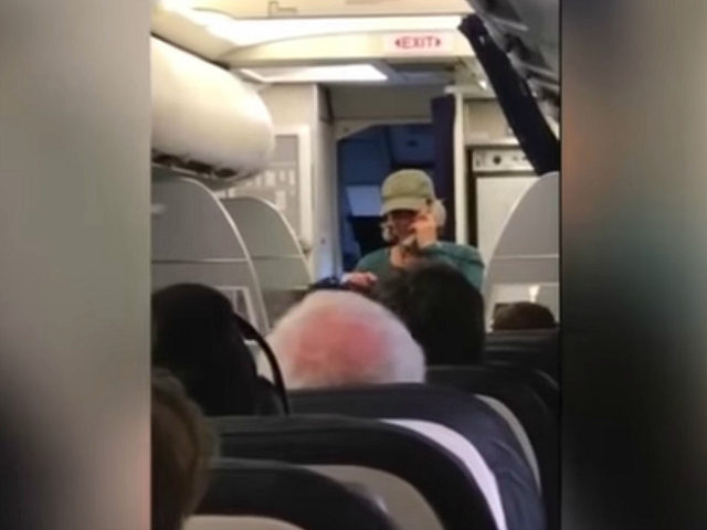 United Airlines Pilot Removed from Flight After Political Rant