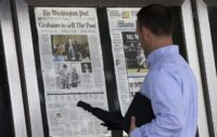 Washington Post Unveils New Slogan: 'Democracy Dies in Darkness'