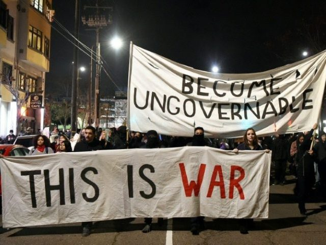 Violent protests erupted at the University of California at Berkeley over the scheduled appearance of a controversial editor of the conservative news website Breitbart