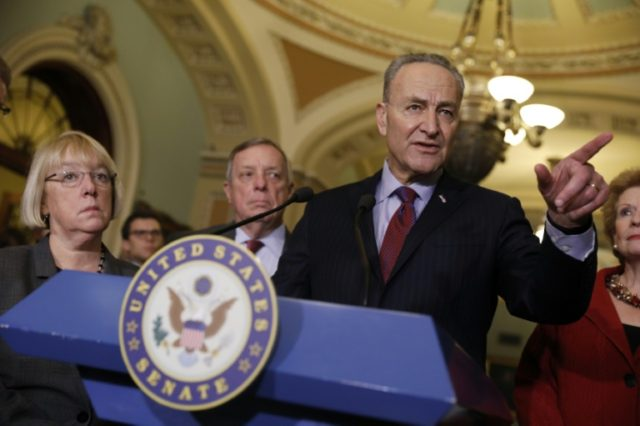 Senate Democrats, with new leader Chuck Schumer, have slow-walked all President Donald Trump's cabinet nominations with only four of 15 nominees confirmed so far