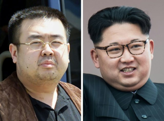 First-born Kim Jong-Nam (L) was once thought to be the natural successor to his father, but on Kim Jong-Il's death in 2011 the succession went to Jong-Un (R), who was born to the former leader's third wife