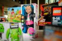 """The now banned talking doll, """"My Friend Cayla"""", worried German surveillance agencies as it can record and transmit anything a child says without parents' knowledge"""