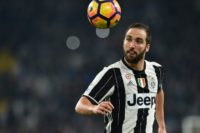 Gonzalo Higuain is level with Roma's Edin Dzeko at the top of the Serie A charts on 19 goals so far