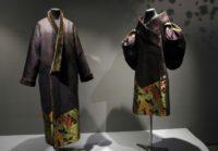 Kimonos by Kenzo Takada on display at the Guimet museum