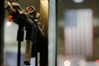 "US appeals court rules hat ""banned assault weapons and large-capacity magazines are not protected by the Second Amendment"""