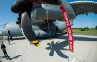 Airbus says charges stemming from problems with its A400M military cargo transport plane hit net profits hard in 2016