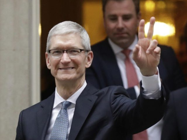 Apple CEO Tim Cook Makes a Surprise Appearance at Reno Facility Groundbreaking