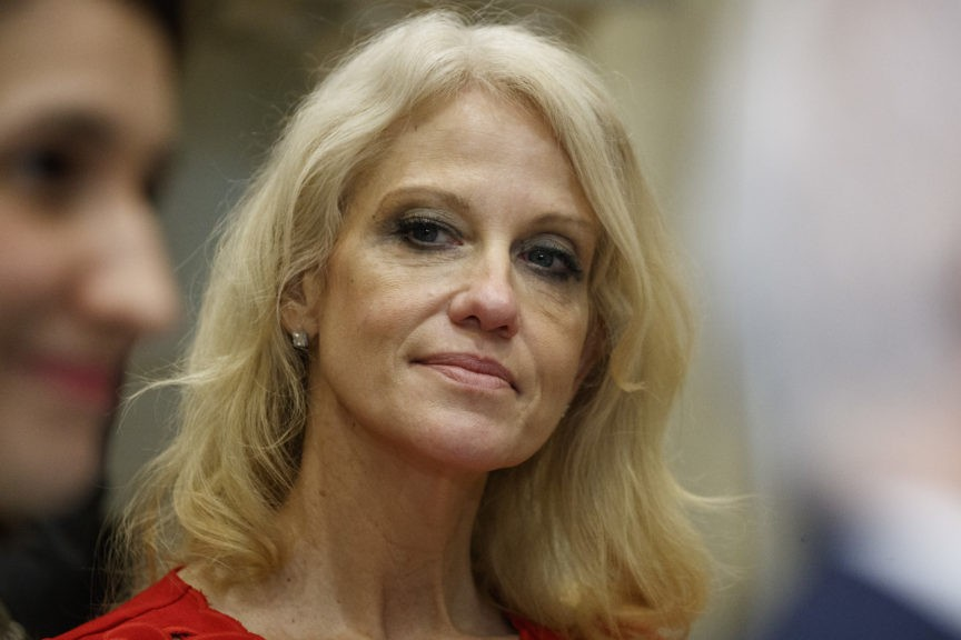 photo image Charges Dropped Against Woman Accused of Assaulting Kellyanne Conway