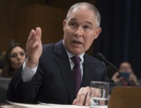 Politico: Pruitt Takes Fire from Conservatives on Climate Showdown