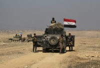 Iraq strikes IS in Syria as Iraqi forces enter western Mosul