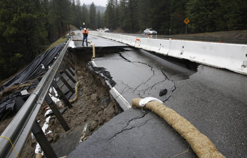 storm lashed california roads dams could cost 1b to fix breitbart