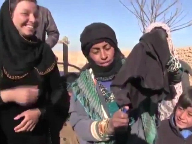 Video: Women Freed from Islamic State Burn Face Veils, Smoke Cigarettes