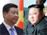 Xi Jinping and Jim Jong-un