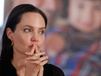 U.S. actress Angelina Jolie, Special Envoy of the United Nations High Commissioner for Refugees, listens to a question during a news conference following a visit to the Midyat refugee camp in Mardin, southeastern Turkey, near the Syrian border, Saturday, June 20, 2015. Marking World Refugee Day Jolie visited the camp …