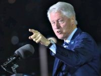 Bill Clinton pointing