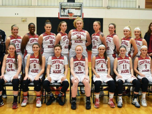 The Central Maine Community College women's basketball team